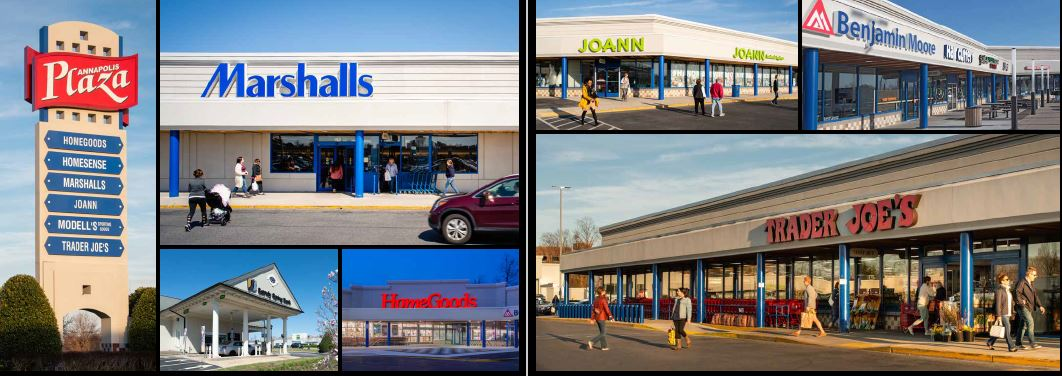 Shopping center photo collage